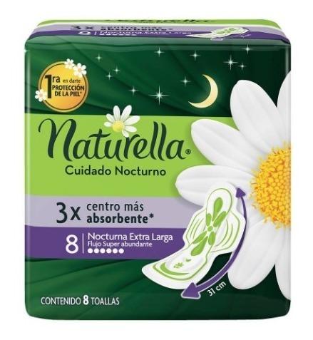 Comprar Naturella Extra Larga Nocturna Toalla Sanitaria 1 Bolsa 8 Piezas