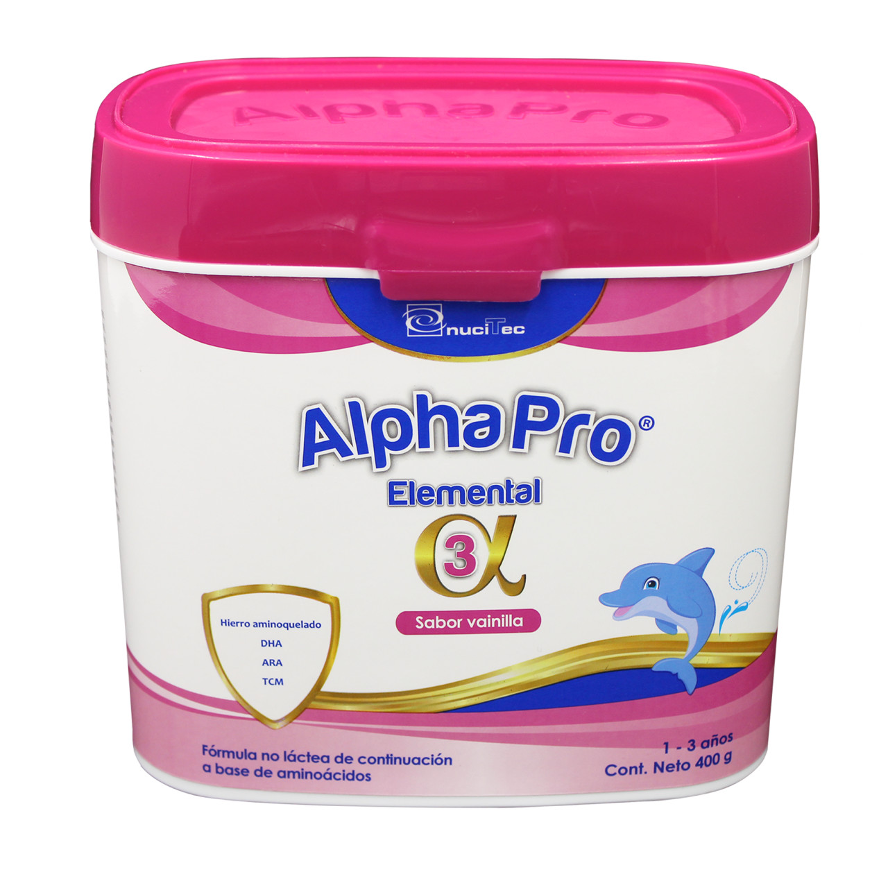 Comprar Alpha Pro Elemental 1 Lata Polvo 400 Gr