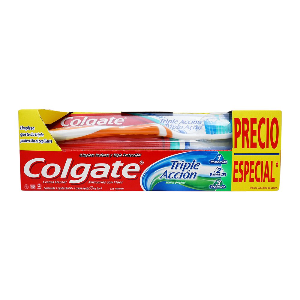 Comprar Colgate Triple Accion Dental Blister 1 Cepillo