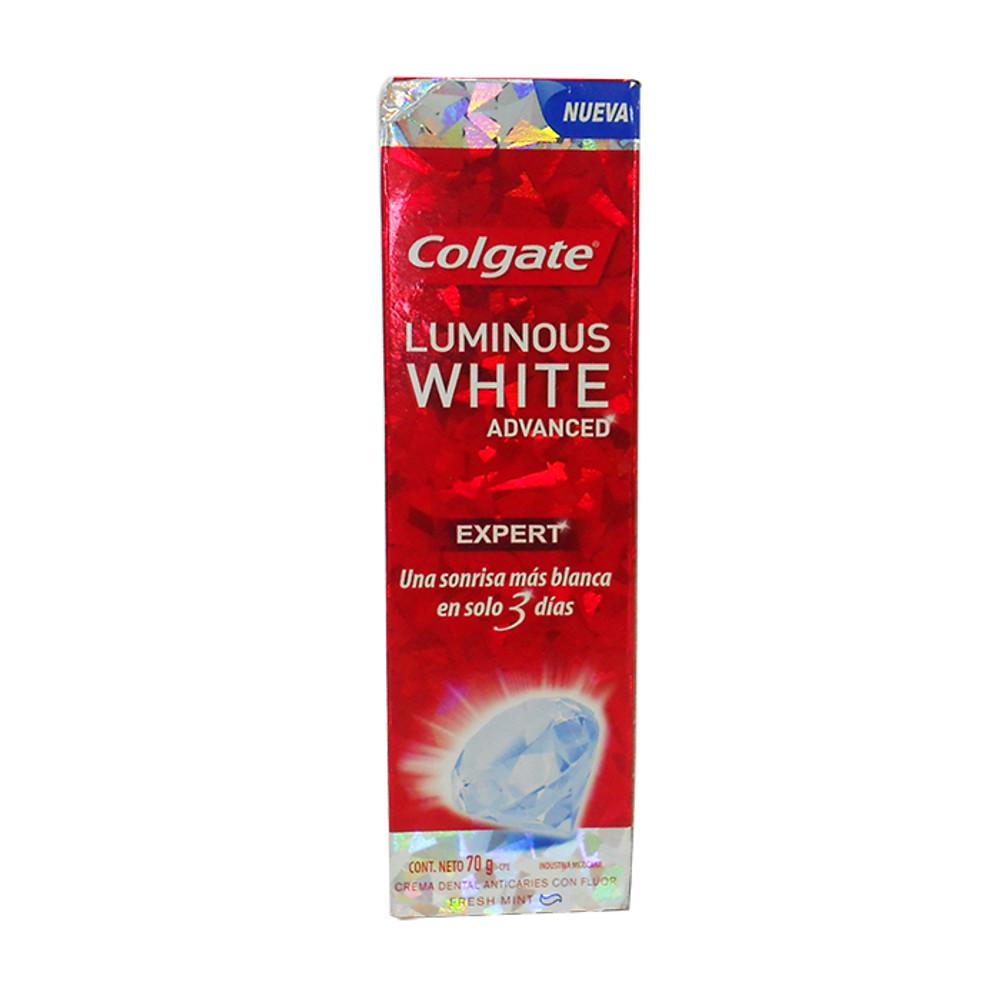 Comprar Colgate Luminous White Advanced 1 Tubo Crema 70 Gr