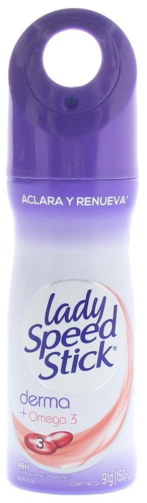 Comprar Lady Speed Stick Derma Omega 3 1 Bote Stick 91 Gr