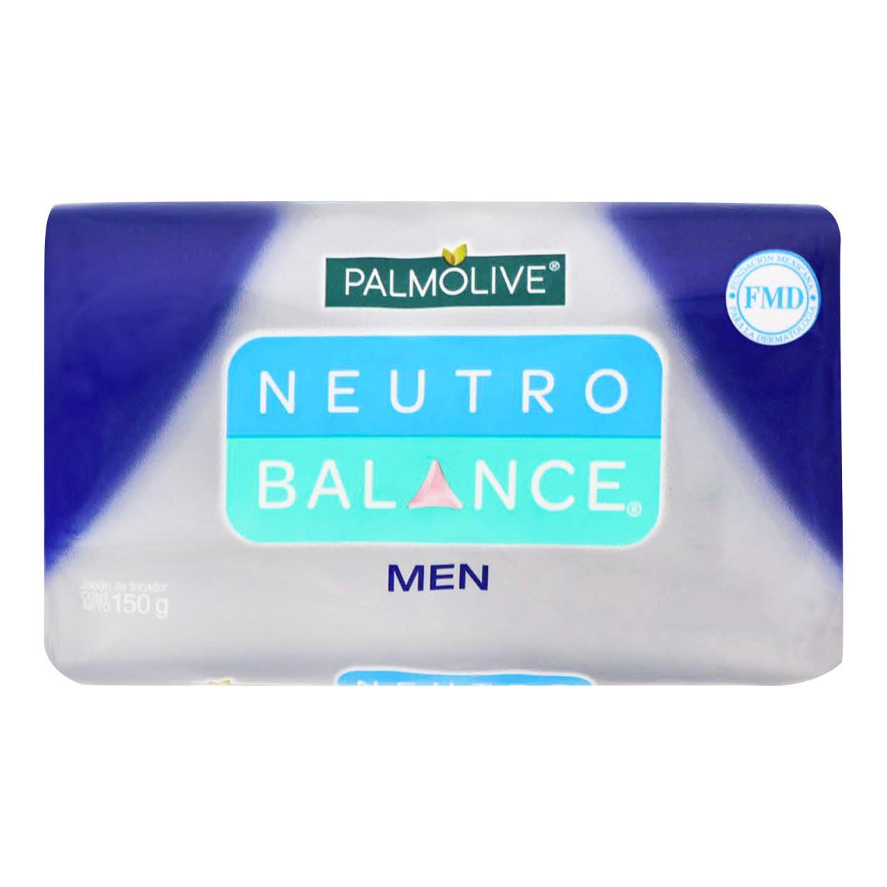 Comprar Palmolive Neutro Balance Men 1 Barra Jabon 150 Gr