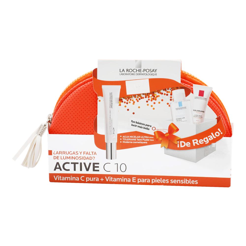 Comprar Active C10 Uv Y Solucion Micelar 50Mlytole 10Ml Kit Crema 30 Ml