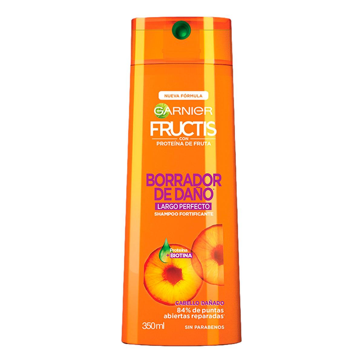 Comprar Fructis Borrador De Daño 1 Botella Shampoo 350 Ml