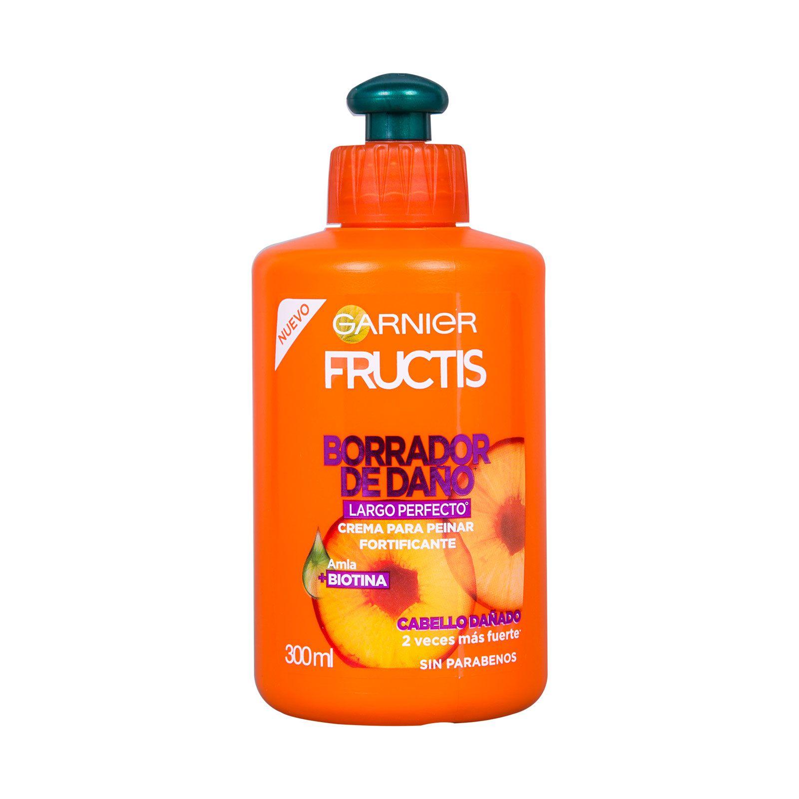 Comprar Fructis Para Peinar Borrador De Daño 1 Botella Crema 300 Ml