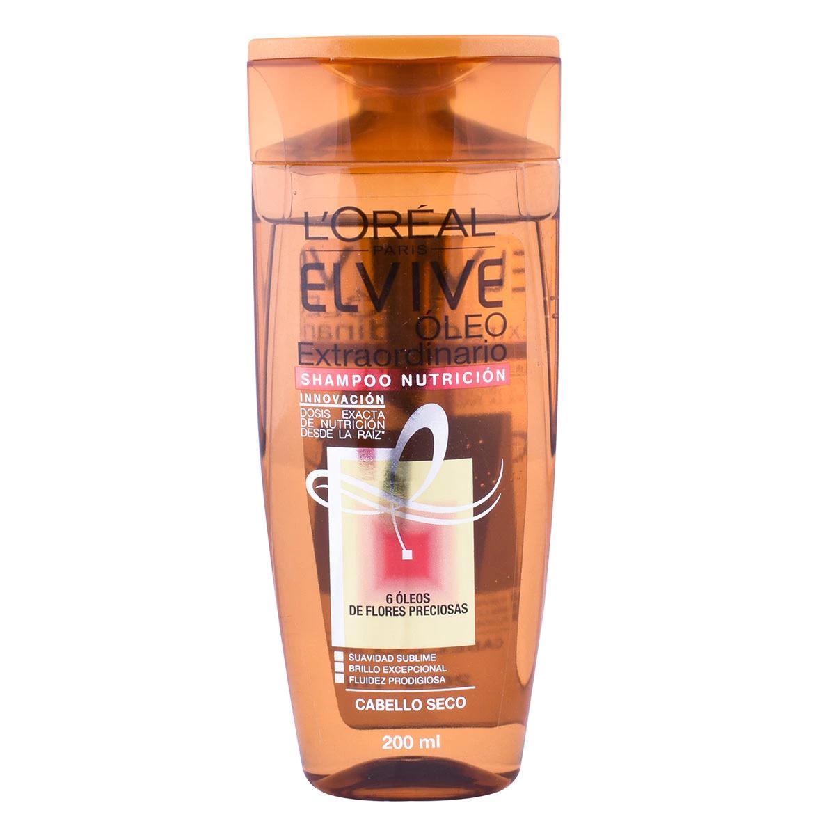 Comprar Elvive Oleo Extraordinario Cabello Seco 1 Botella Shampoo 200 Ml