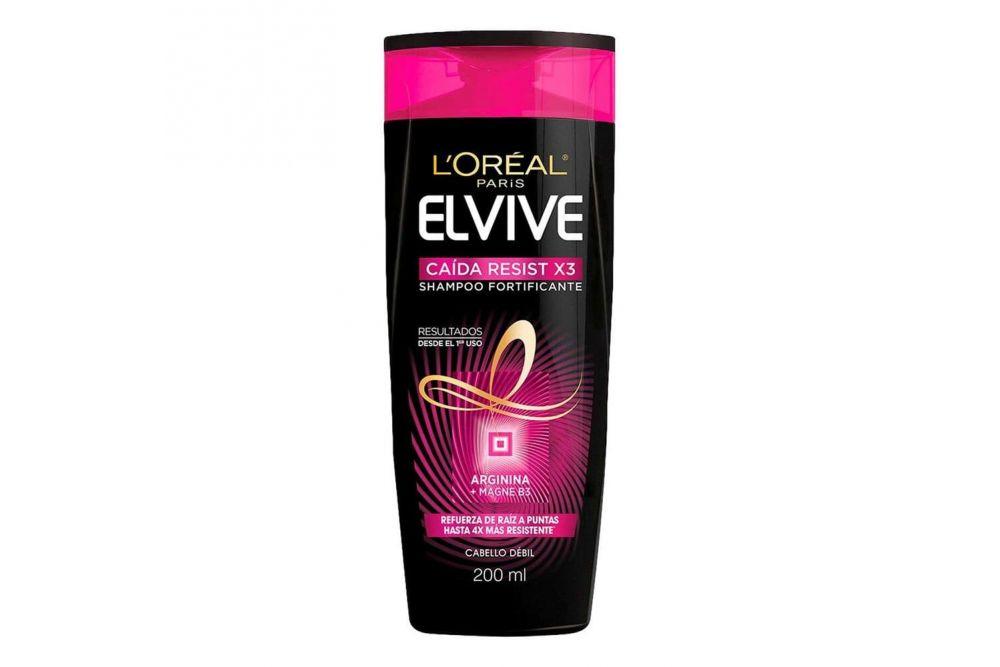 Comprar Elvive Caida Resist X3 Arginina 1 Botella Shampoo 200 Ml