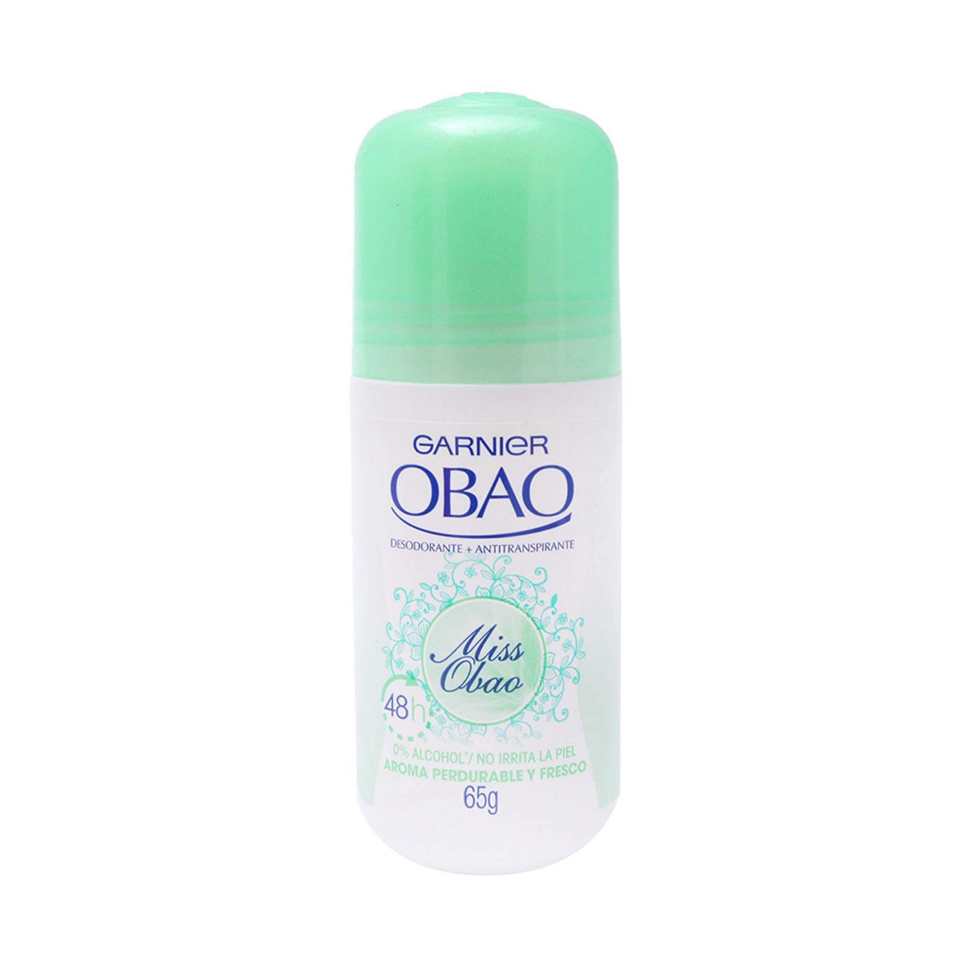 Comprar Obao Miss 48Hr 1 Frasco Roll-On 65 Gr