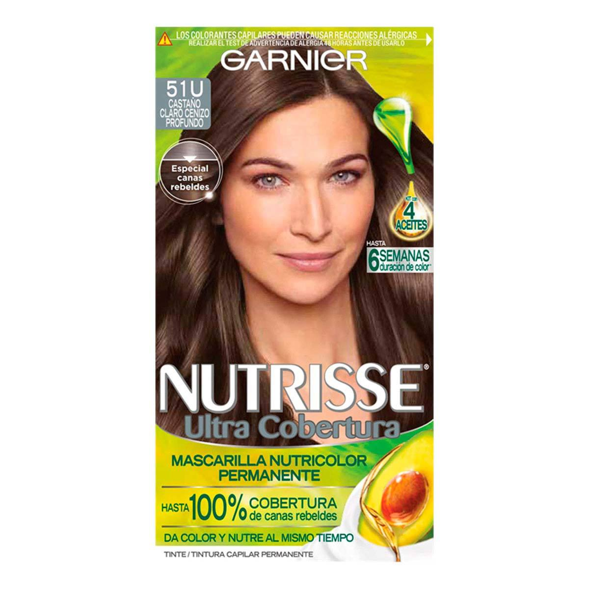 Comprar Nutrisse Ultracob Castaño Claro 51 Tinte