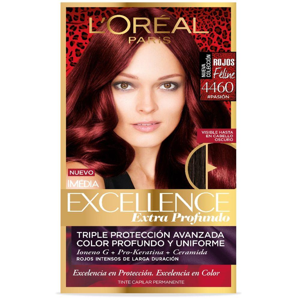 Comprar Imedia Excellance Rojo Pasion 4460 Tinte