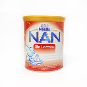 Comprar Nan Sin Lactosa 1 Lata 400 Gr
