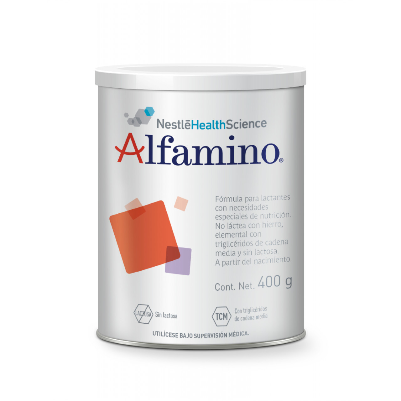 Comprar Alfamino Formula Infantil A Partir Del Nacimiento 1 Lata Polvo 400 Gr