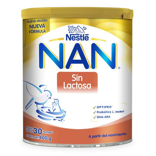 Comprar Nan Sin Lactosa 1 Lata Polvo 400 Gr