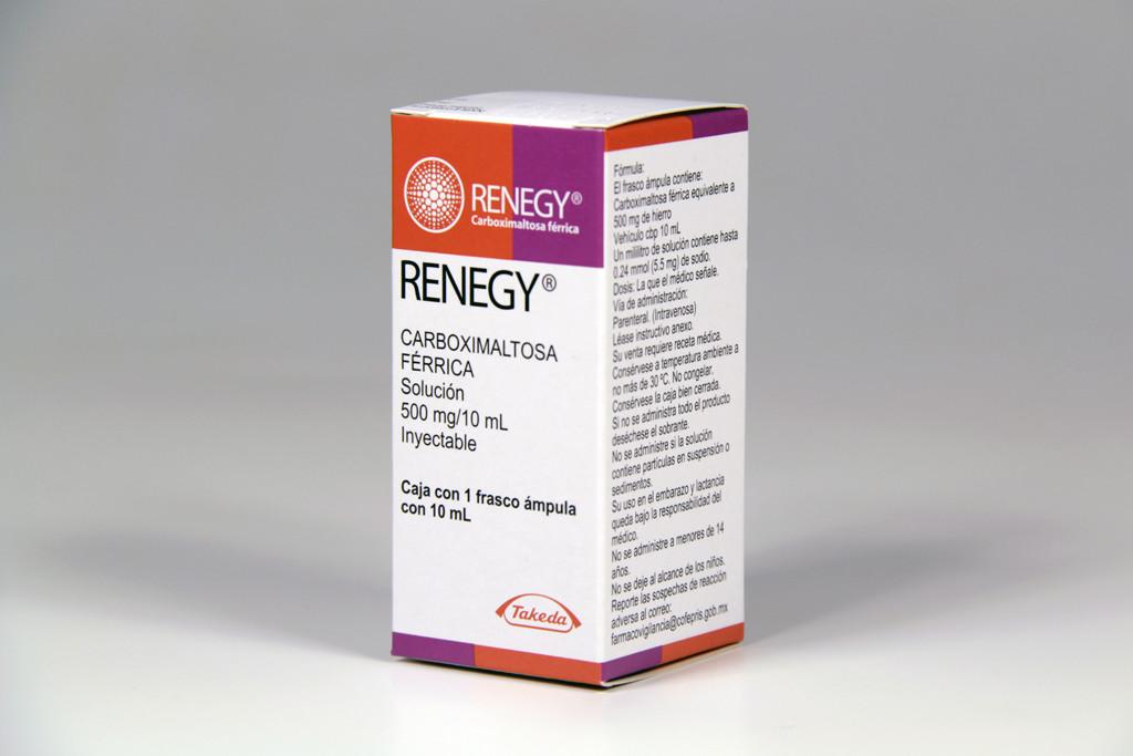 Comprar Renegy 500 Mg Caja 1 Frasco Ampula 10 Ml