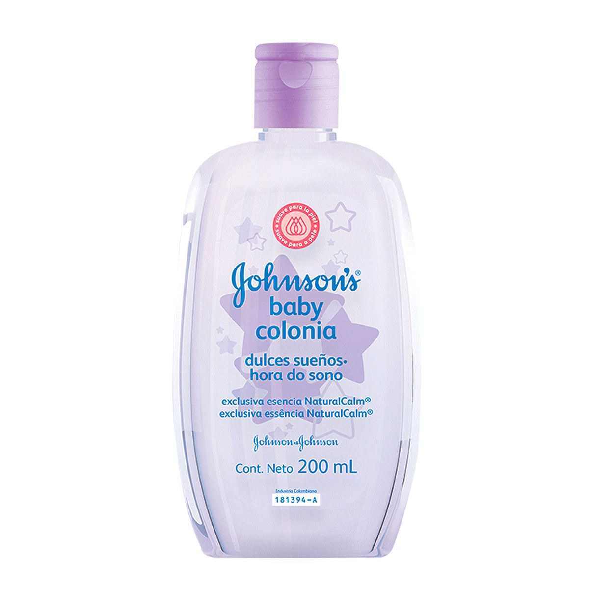 Comprar J&J Baby Colonia Dulces Suen 1 Botella 200 Ml