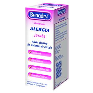 Comprar Benadryl 1 Frasco Solucion 120 Ml