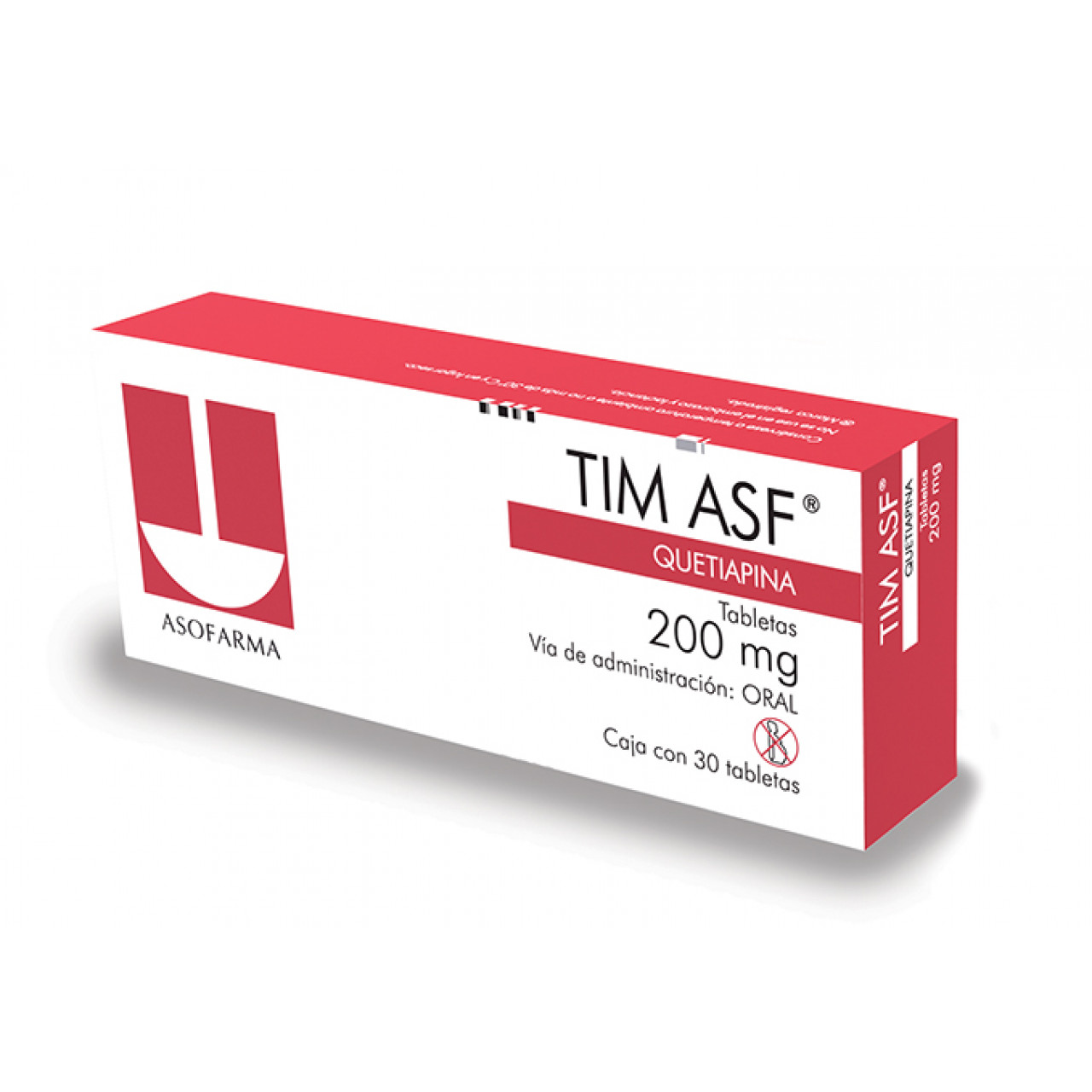 Comprar Tim Asf 200 Mg Caja 30 Tabletas