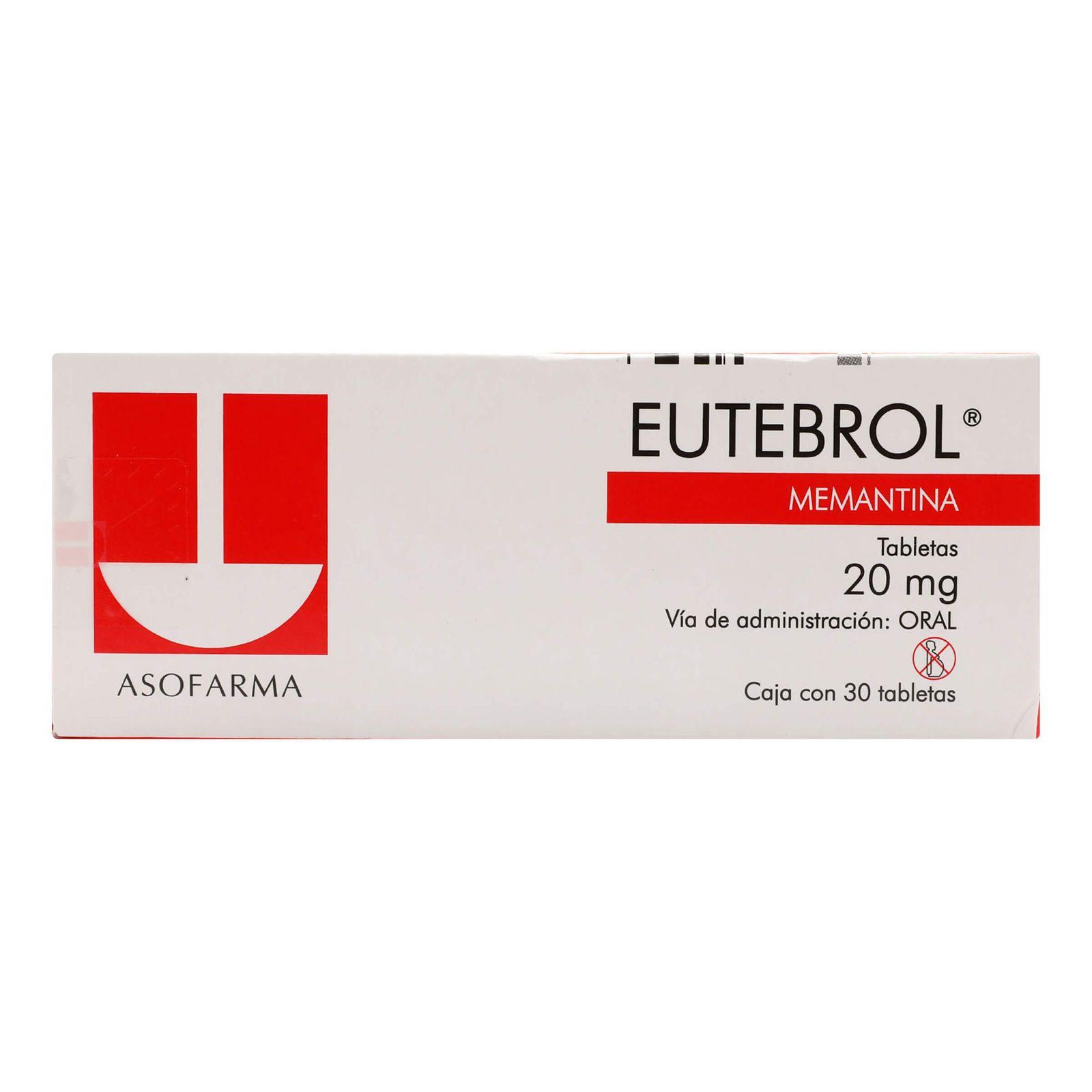 Comprar Eutebrol 20 Mg Caja 30 Tabletas