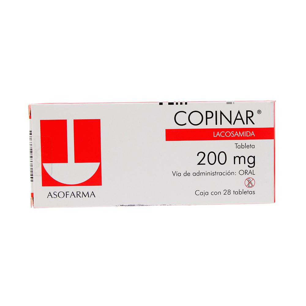 Comprar Copinar 200 Mg Caja 28 Tabletas