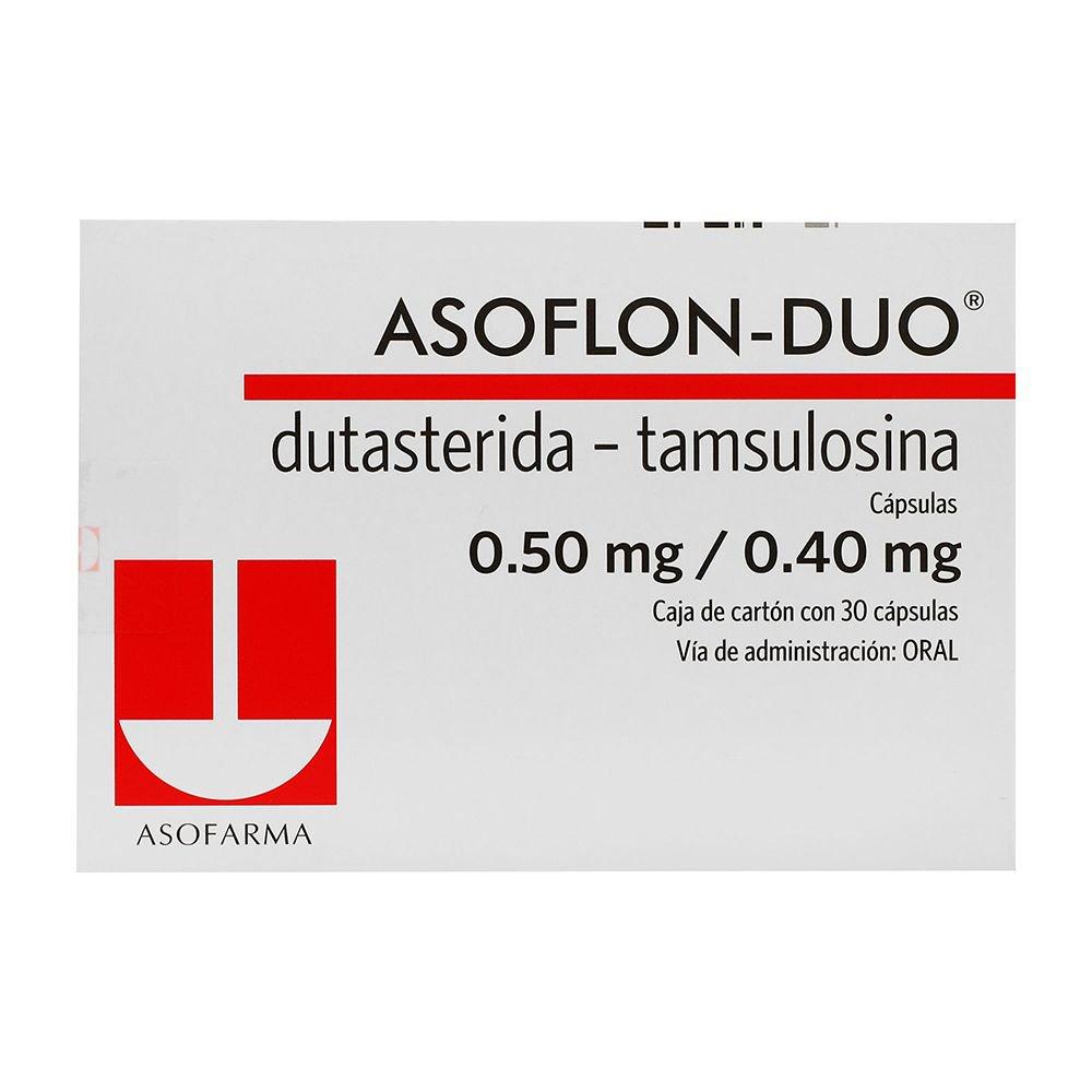 Comprar Asoflon Duo 5/0.4 Mf 1 Caja 30 Capsulas