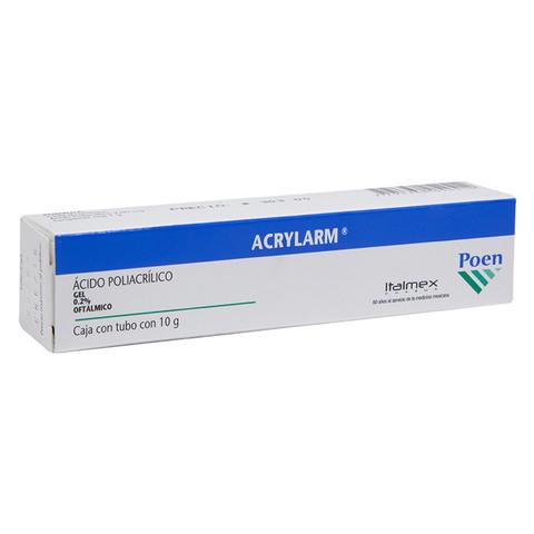 Comprar Acrylarm Oftalmico .2 % 1 Frasco Gel 10 Gr