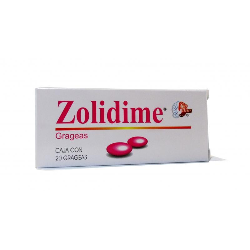 ZOLIDIME 20 GRAG 200/100/0.5 MG