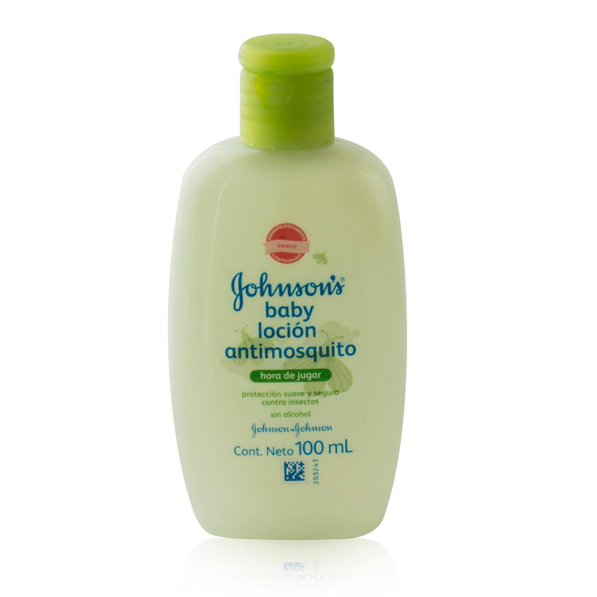 Comprar J&J Baby Locion Antimosquito 1 Botella 100 Ml