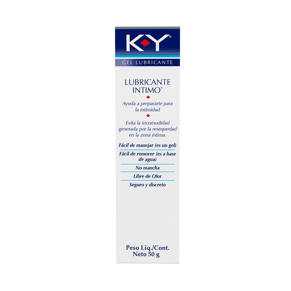Comprar K-Y Gel Lubricante 50 Gr 1 Tubo