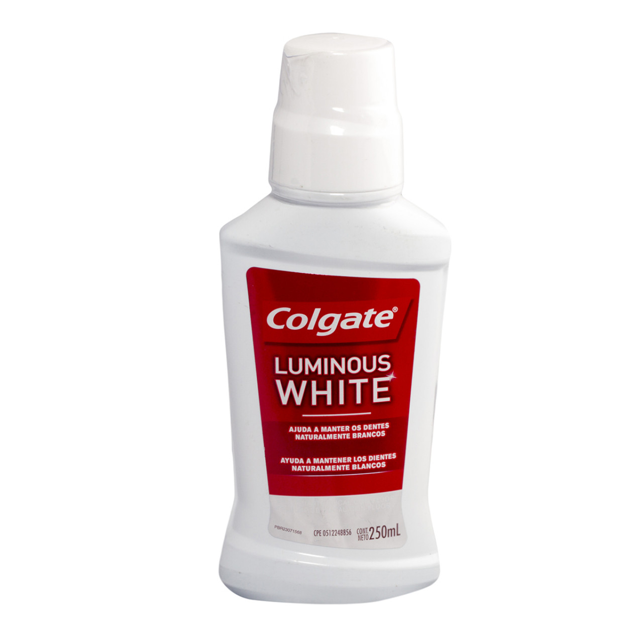 Comprar Colgate Luminous White Enjuage Bucal 1 Frasco Solucion 250 Ml