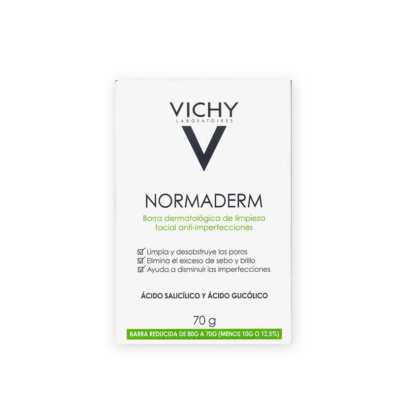 Comprar Vichy Normaderm Jbn Barra Anti Imperfecciones 1 Bolsa Jabon 70 Gr