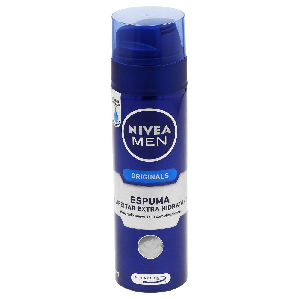 Comprar Nivea Hidratante Espuma P/Rasurar 1 Frasco Crema 200 Ml