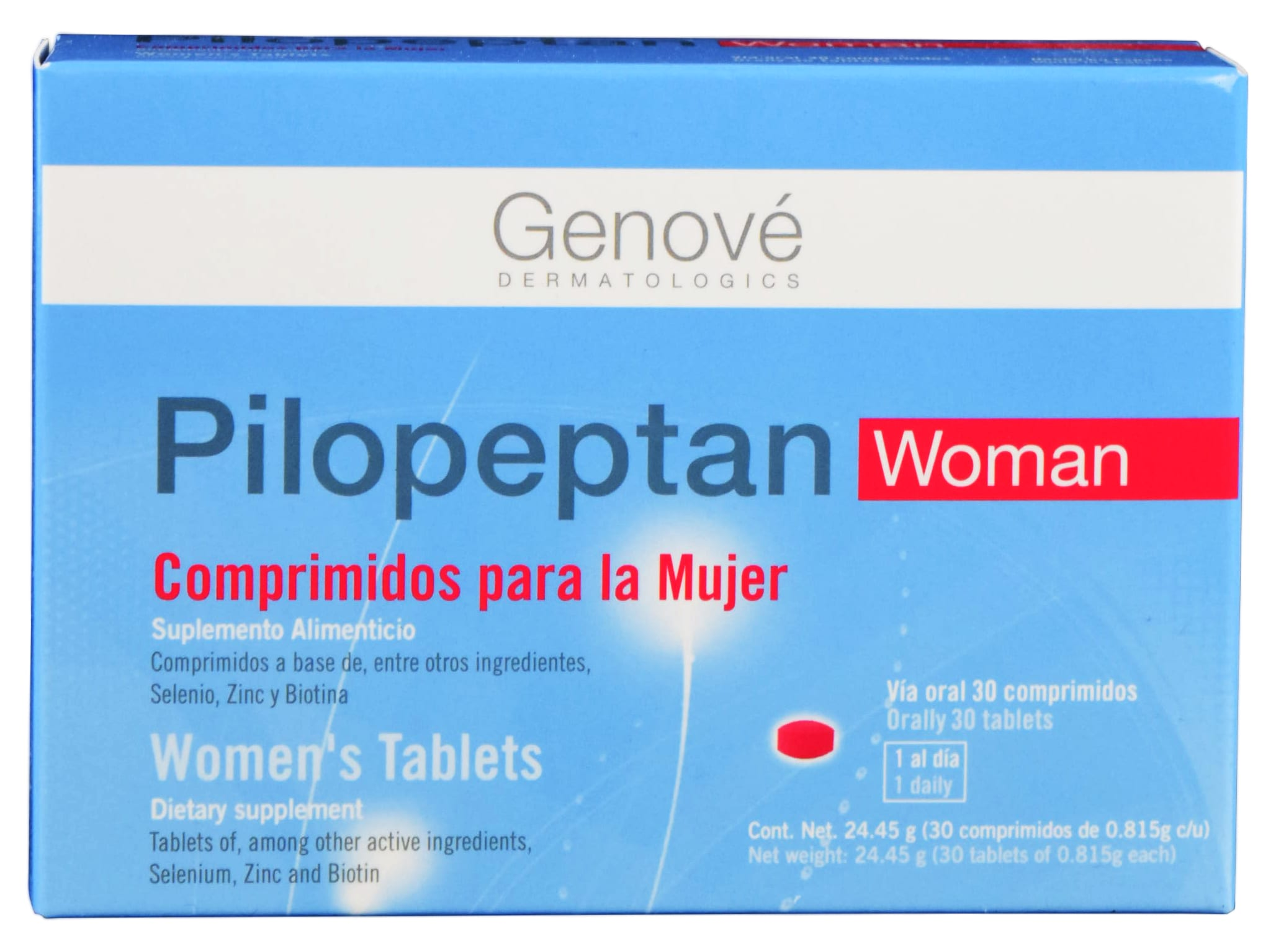 Comprar Pilopeptan Woman 1 Caja 30 Comprimidos