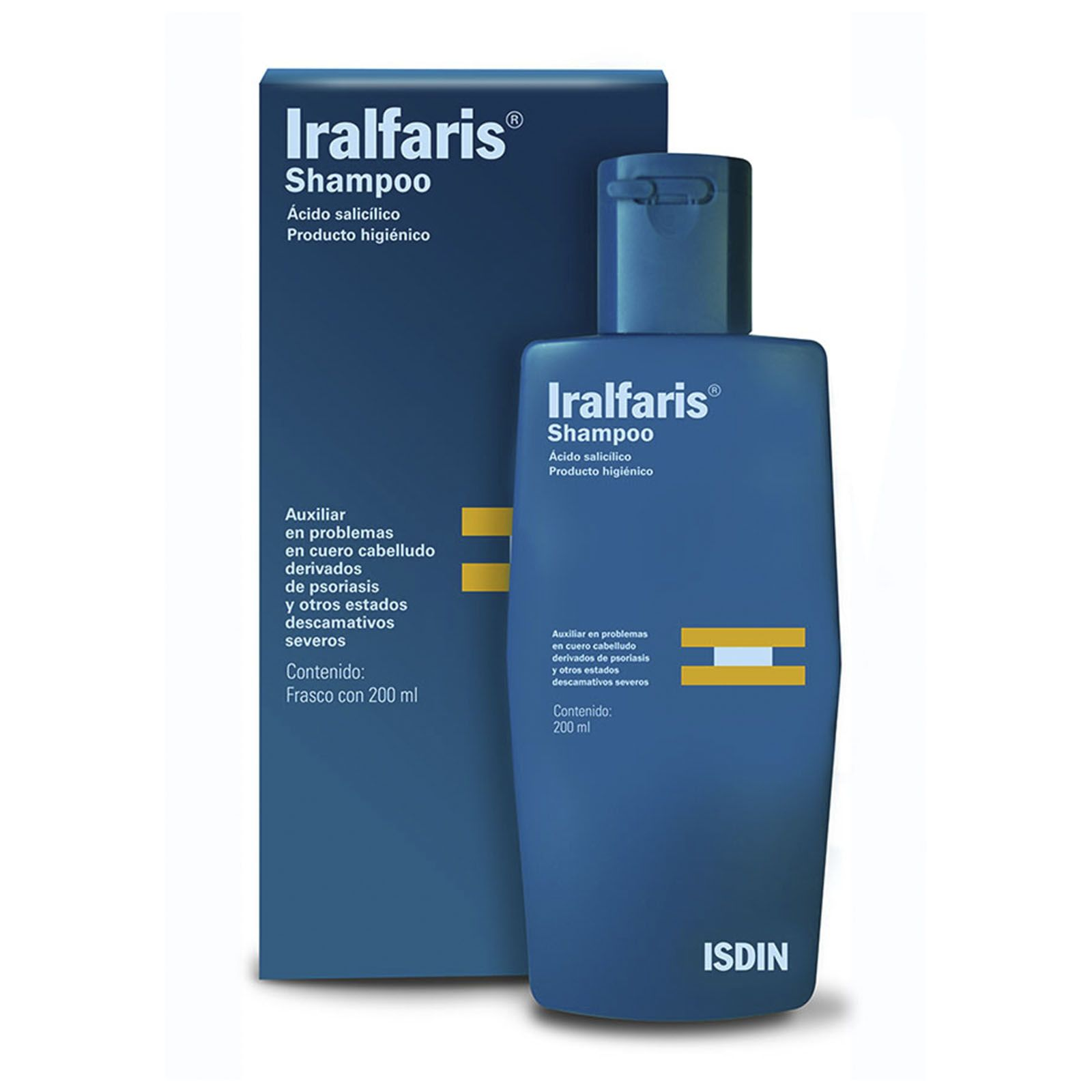 Comprar Iralfaris 3 Ml 1 Frasco Shampoo 200 Ml