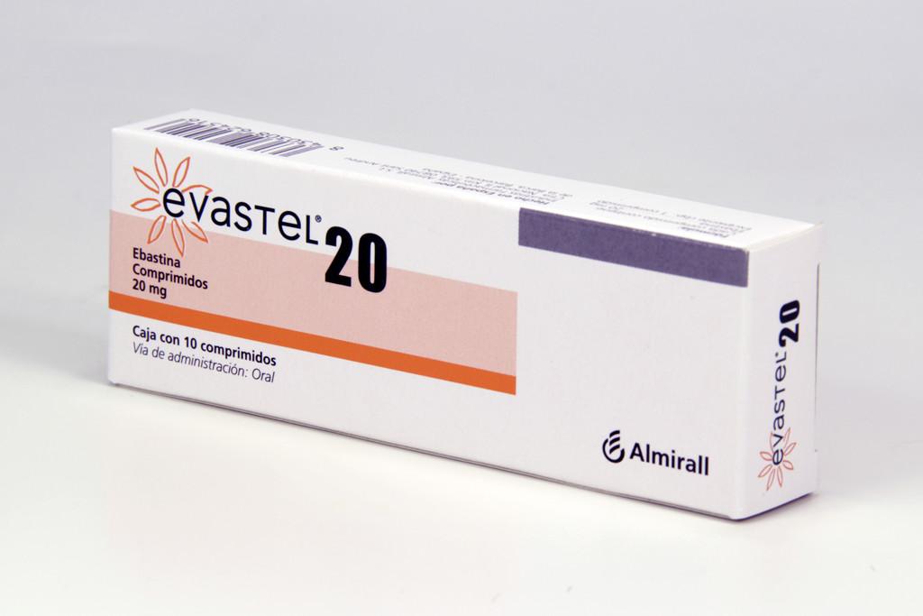 Comprar Evastel 20 Mg Caja 10 Comprimidos