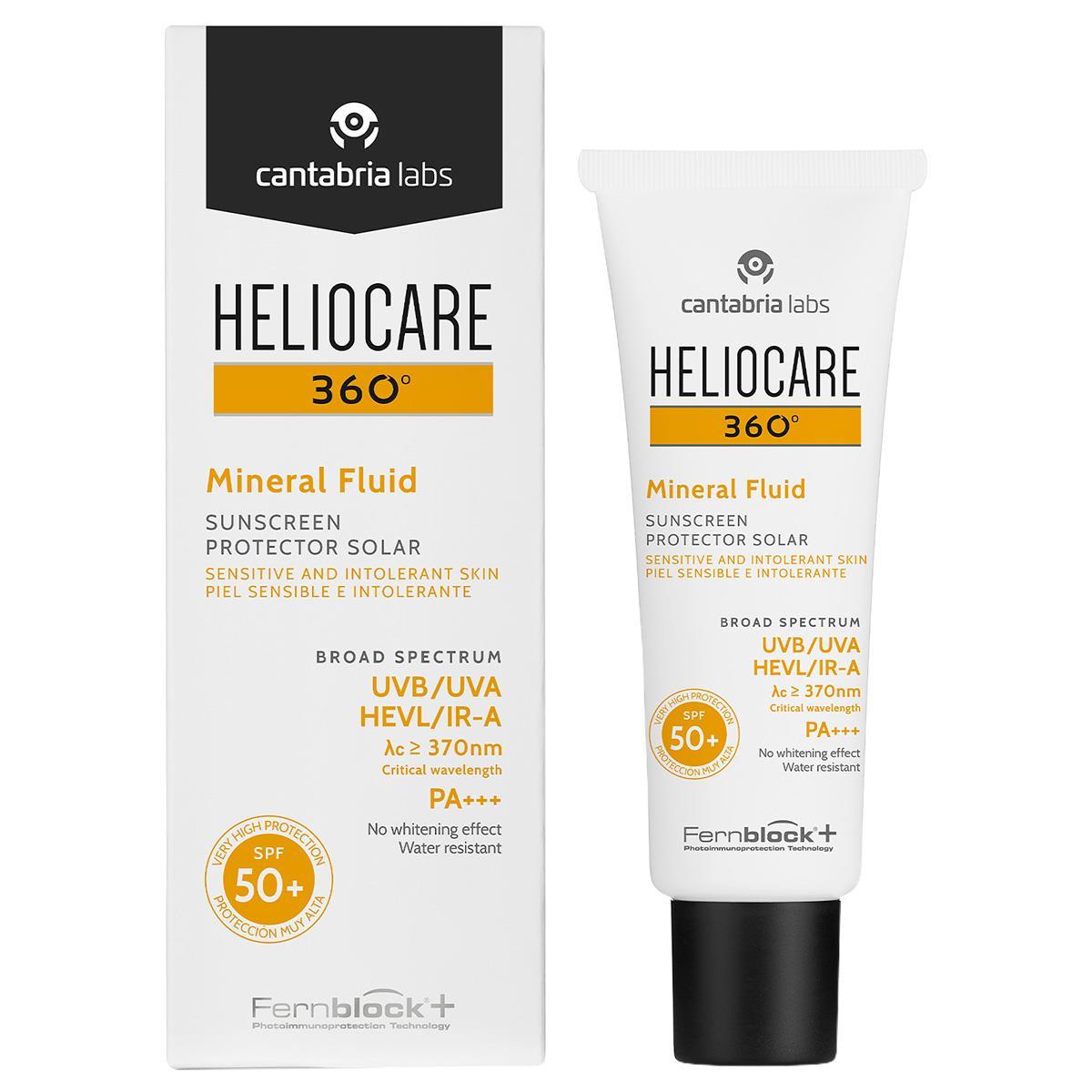 Comprar Heliocare 360 Mineral Fps 50 1 Botella Fluido 50 Ml