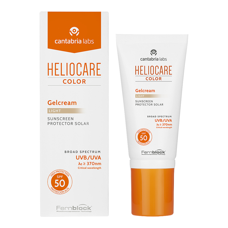 Comprar Heliocare Color Light Fps 50 1 Botella Gel-Crema 50 Ml