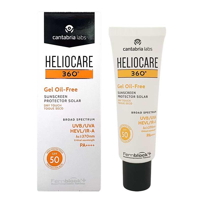 Comprar Heliocare 360 Oil Free Fps 50 1 Frasco Gel 50 Ml