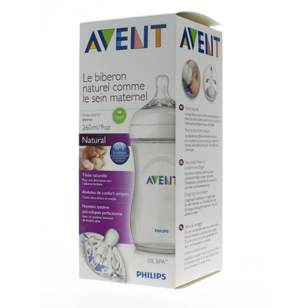 Comprar Avent Natural Blanco 1-My 9 Onzas 1 Botella 260 Ml