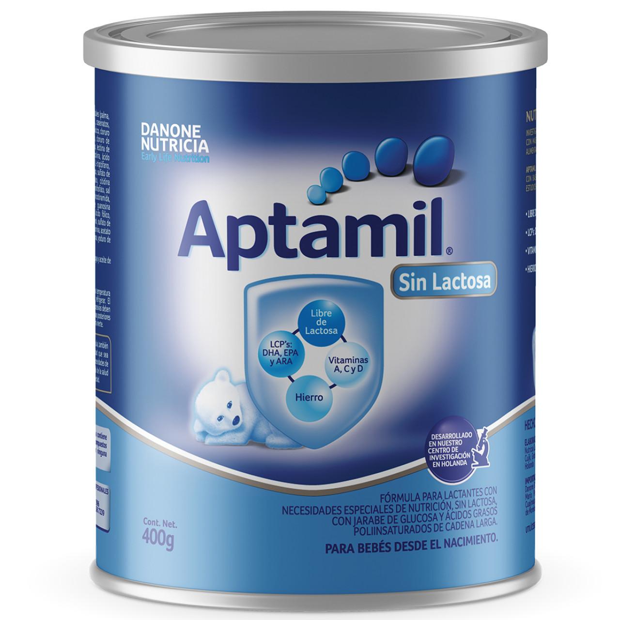 Comprar Aptamil Sin Lactosa 1 Lata Polvo 400 Gr