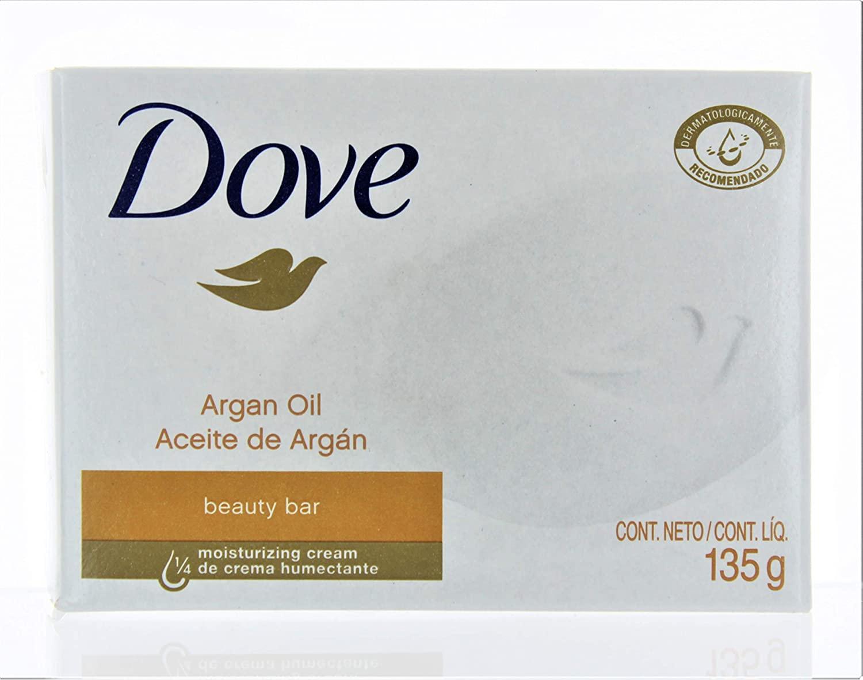 Comprar Dove Beauty Aceite Argan 1 Bolsa Barra 135 Gr