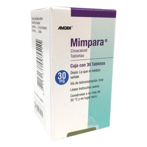 Comprar Mimpara 30 Mg 1 Caja 30 Tabletas