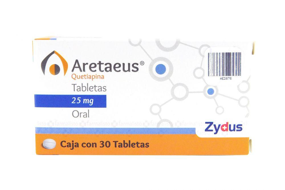 Comprar Aretaeus 25 Mg Caja 30 Tabletas