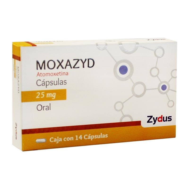 Comprar Moxazyd 25 Mg 1 Caja 14 Capsulas