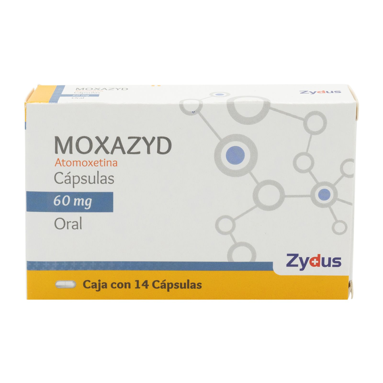Comprar Moxazyd 60 Mg 1 Caja 14 Capsulas