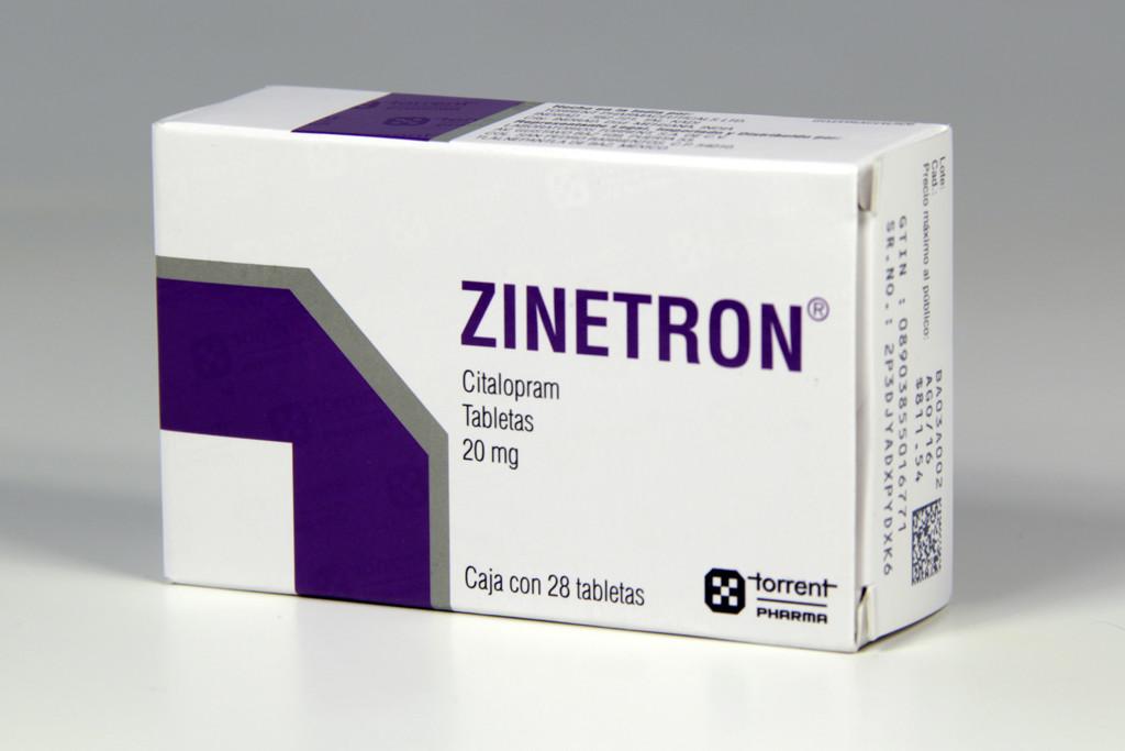Comprar Zinetron 20 Mg Caja 28 Tabletas