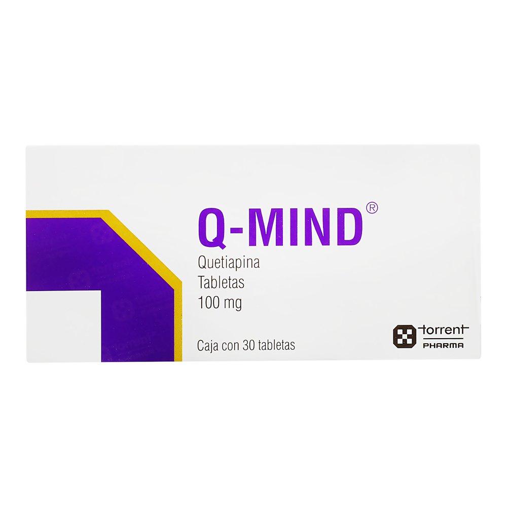 Comprar Q-Mind 100 Mg Caja 30 Tabletas