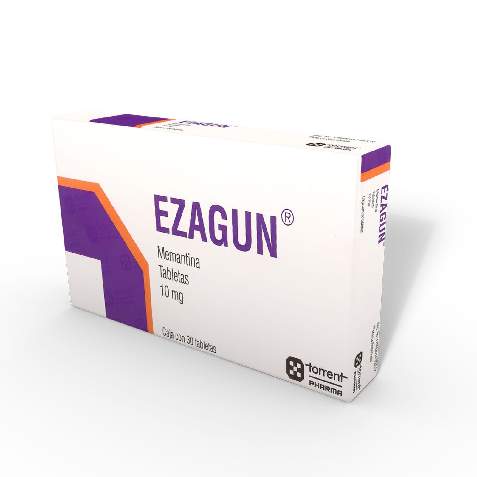 Comprar Ezagun 10 Mg Caja 30 Tabletas