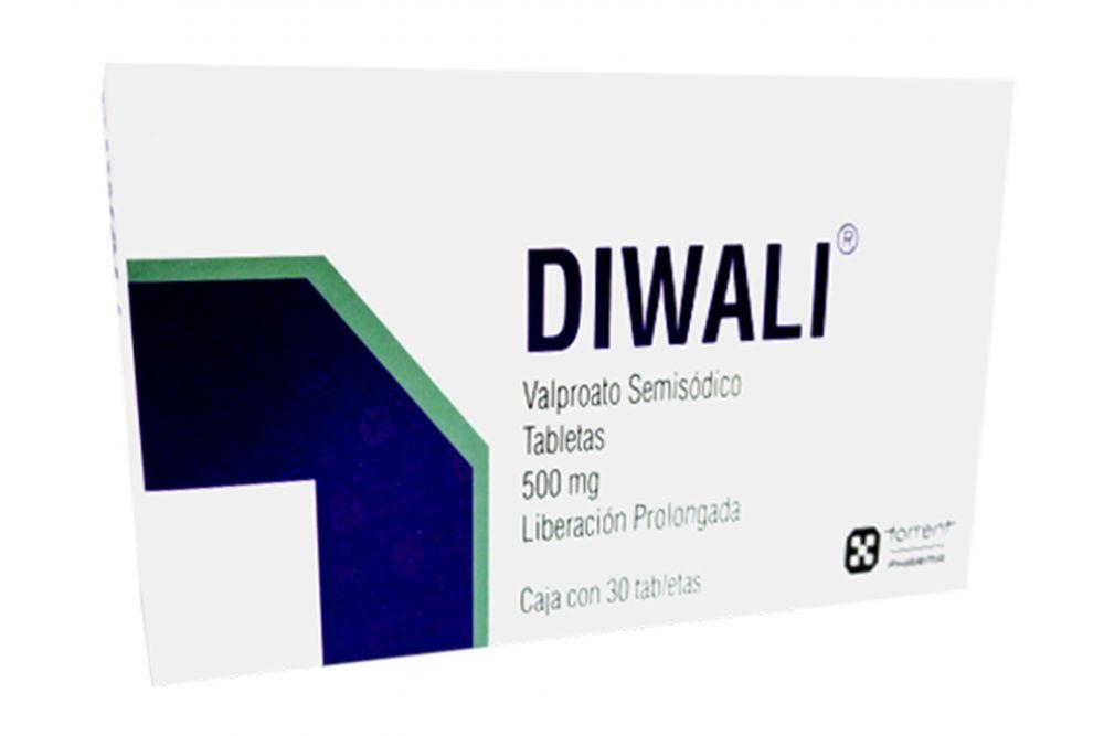 Comprar Diwali 500 Mg Caja 30 Tabletas