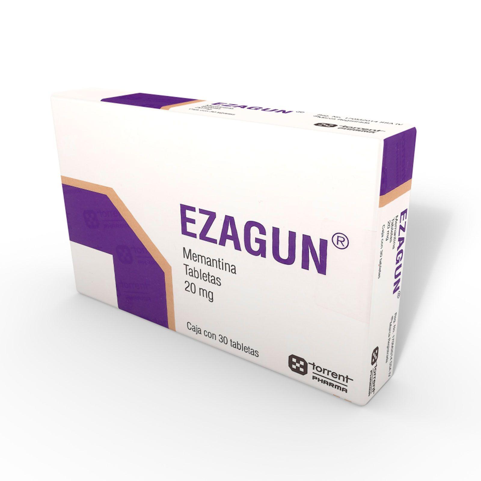 Comprar Ezagun 20 Mg 1 Caja 30 Tabletas