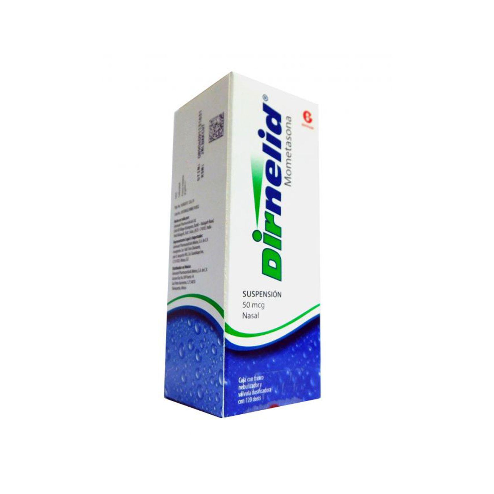 Comprar Dirnelid 120 Dosis 50 Mcg 1 Frasco Spray